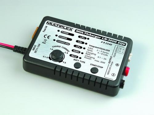 Combo MULTIcharger LN-3008 EQU mit Netzt Multiplex 92545