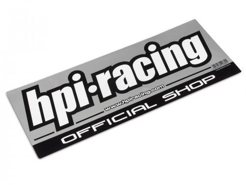 HPI Offizieller Händler Fensteraufkleber HPI 102506