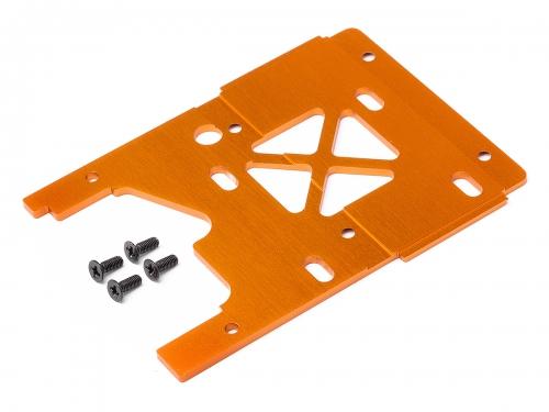 Motorplatte 2.5mm (7075/Orange/Savage X) HPI 105896