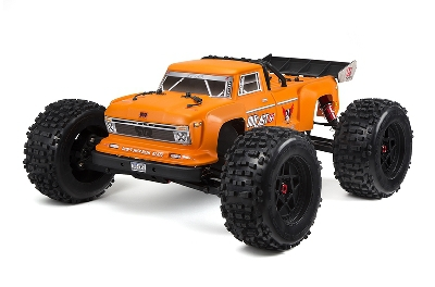 Arrma - Car Kit - Outcast 6S BLX 4WD Orange - 1/8 Monster Truck - ohne Akku und Ladegerat - RTR AR106027 Hobbico