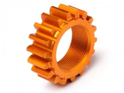 Ritzel mit Gewinde 18Zx12mm (1M/Orange/Nitro 3) HPI 106630