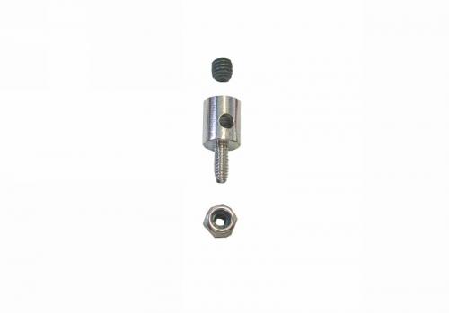 Gestängeanschluss f.Draht, 1,2-2mm VE10 Graupner 1177.2