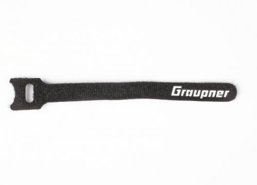 Klett-Kabelbinder schwarz 150mm VE10 Graupner 1587.150.B