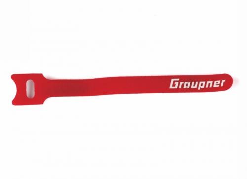 Klett-Kabelbinder rot 150mm VE10 Graupner 1587.150.R