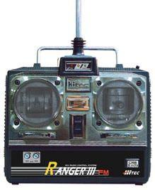 Ranger 3 FM Sky 40 MHz mit 2 HS55 Servos Hitec 110004