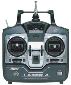 LASER 4 FM, 35MHZ MODE1 Hitec 110105