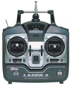LASER 4 FM, 35MHZ MODE2 Hitec 110106