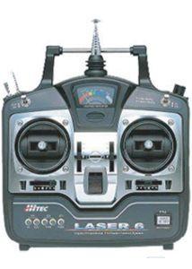 LASER 6 FM, 35MHZ MODE2 Hitec 110111