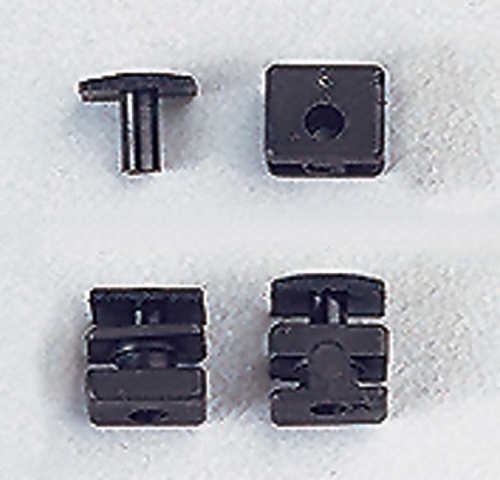 Gummitülle für Jumbo Servo 1 Satz Multiplex 715318