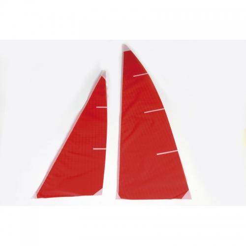 Segelsatz rot Graupner 2114.5R