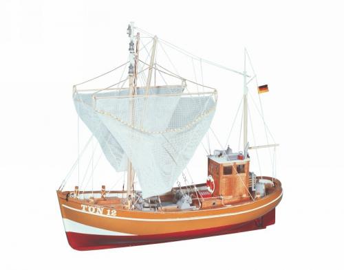 WP KRABBE TÖN 12RC Boot Graupner 2141.V2