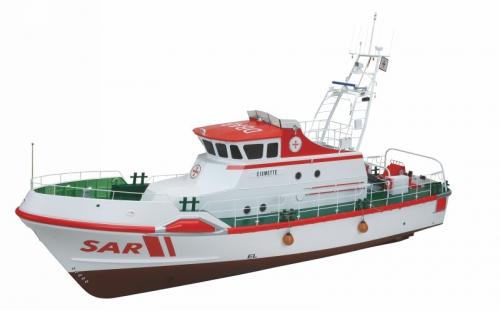 WP EISWETTE Seenotrettungskreuzer Graupner 2157