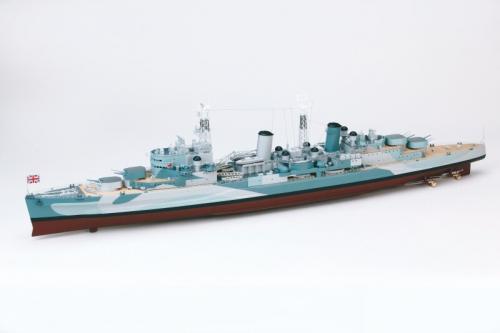 HMS BELFAST Rumpflänge ca. 1250 mm Graupner 2205
