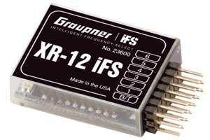 Empfänger XR-12 IFS V3 Graupner 23600 2,4ghz