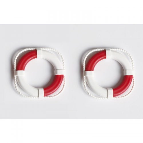 Rettungsring 40 mmVE2, rot/weiß Graupner 300.40