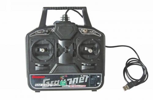 Simulatorsteuerung SIM-Control 6 Mode1 RC Simulatorsteuerung Graupner 33006.M1