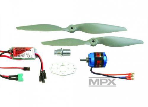 Antriebssatz AcroMaster Himax Multiplex 332640 Gemini Tuning