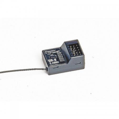 Empfänger GR-8 HoTT2.4 GHz Race 4 Kanal Graupner 33504
