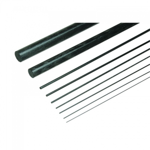 Kohlefaser-Rundstab10,0mm/1000mm lang Graupner 5220.1000