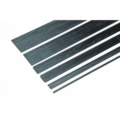 Kohlefaser Vierkantstab 25,4x0,8x1000mm Graupner 5222.25,4.0,8