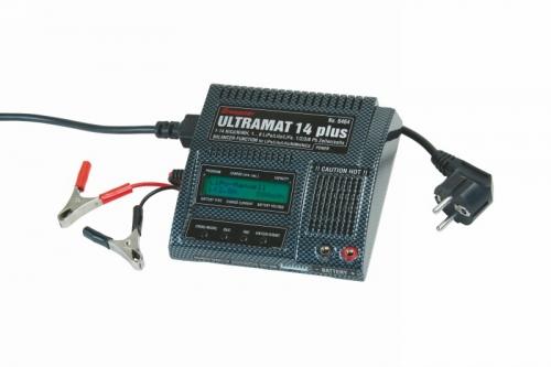 Ladegerät ULTRAMAT 14 plus Li Pb Ni Graupner 6464