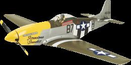 Replacement Airframe:P-51D PKZ1570 JSB Hangar9 E-Flite Scorpio
