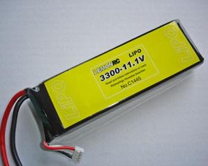 Lemon RC 3300 - 11,1V Lipo Lithium Polymer Akku