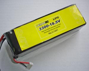 Lemon RC 3300 - 18,5V Lipo Lithium Polymer Akku