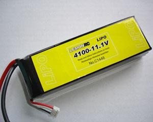Lemon RC 4100 - 11,1V Lipo Lithium Polymer Akku