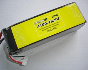 Lemon RC 4100 - 18,5V Lipo Lithium Polymer Akku