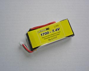Lemon RC 1800 - 7,4V Lipo Lithium Polymer Akku