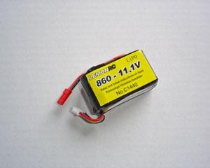 Lemon RC 860 - 11,1V Lipo Lithium Polymer Akku