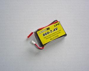 Lemon RC 860 - 7,4V Lipo Lithium Polymer Akku