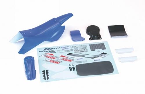 Karosserie + Decals(blau) Graupner 90190.62