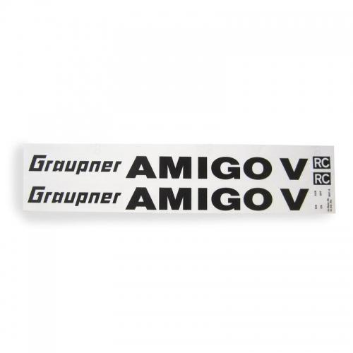 Dekorbogen AMIGO V Graupner 9541.14