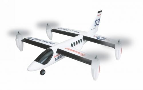 WP RC-Elektroflugmodell X44 RTF 695 mm Graupner 9944.RTF
