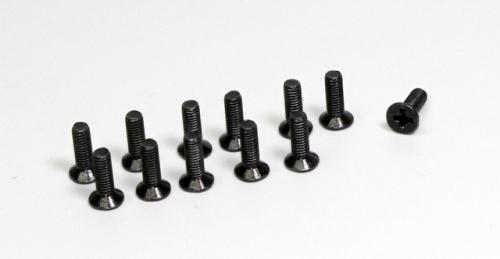 Senkkopfkreuzschlitzschrauben M3x10 (12 St.) 1:10 Hot Shot Buggy/Truggy Absima 1230048