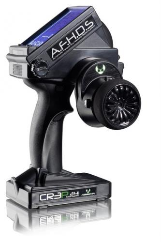3 - Kanal Display Fernsteuerung CR3P 2,4 GHz inkl. waterproof Empfänger Absima 2000002