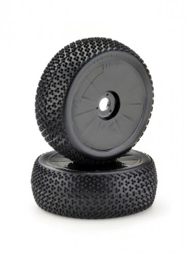 Räderset LP Buggy Disc / Dirt schwarz 1:8 (2 St.) Absima 2520020