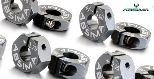 Aluminium 7075 T6 Radmitnehme Absima 2560010