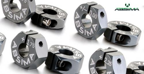 Aluminium 7075 T6 Radmitnehme Absima 2560016