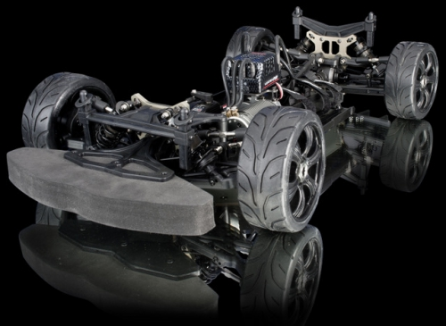 1:8 EP Onroad Chassis GT8LE 4WD Brushless Competition KIT (Langversion) Absima GT8LE