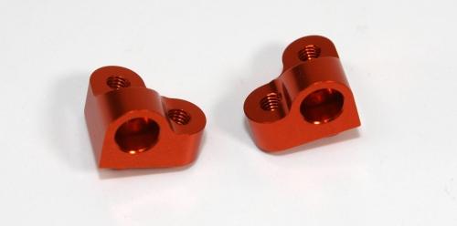 Aluminium Querlenkerhalter 2-teilig l/r Comp. Onroad Absima T01009