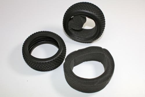 Reifen mit Einlage (2 St.) 1:8 Buggy Absima T08714
