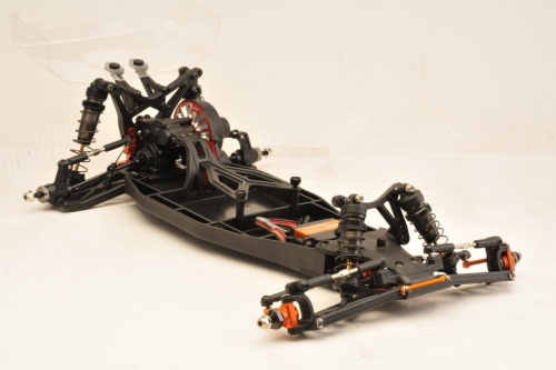 1:10 EP Buggy TC02CEVO Team Edition 2WD Competition KIT Absima TC02CEVOTE