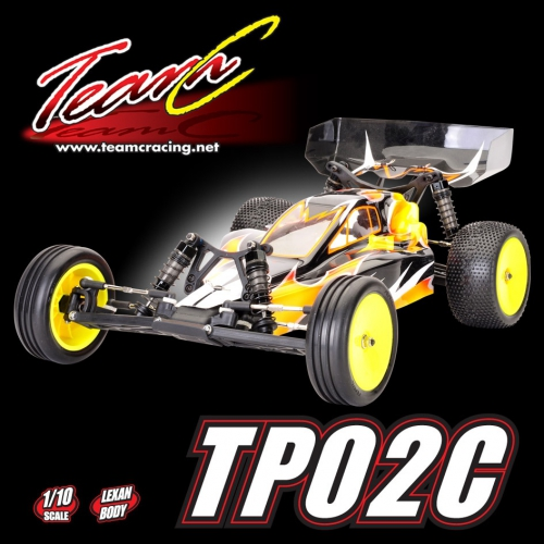 1:10 EP Buggy TP02C 2WD Com Absima TP02C