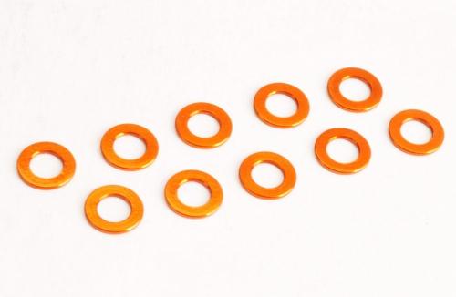 Beilagscheiben M3 0.5mm orange (10 St.) Absima TU1012