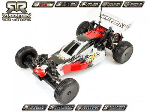 Arrma ADX-10 Buggy, rot / RTR Revell RC Pro AR102121