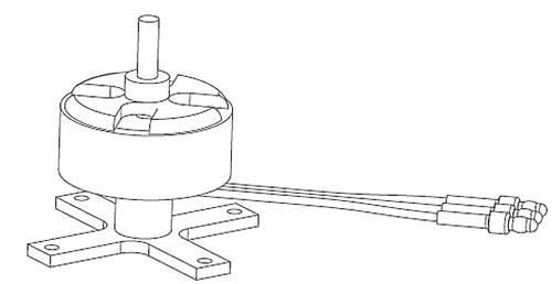 BL-Motor 700KV PC-6 Robbe 26230010