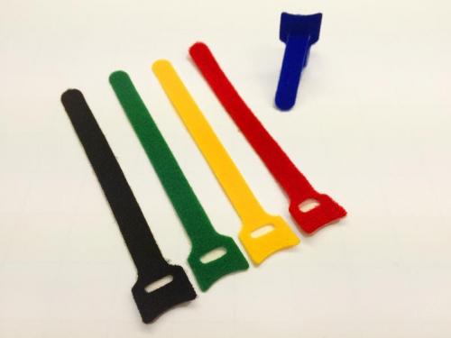 Klettgurt 13x160 mm 5 Stück farbig sortiert Robbe 59001007